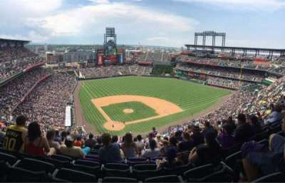 Coors Field, section: U328, row: 24, seat: 15