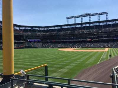 Coors Field, section: 149, row: 22, seat: 9