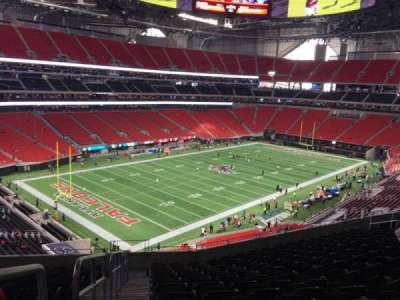 Mercedes-Benz Stadium, section: 244, row: 12, seat: 22
