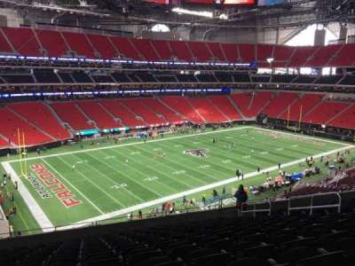 Mercedes-Benz Stadium, section: 243, row: 12, seat: 10