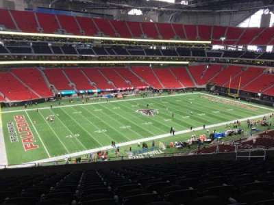 Mercedes-Benz Stadium, section: 242, row: 12, seat: 12