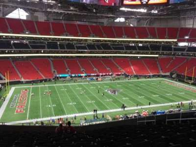 Mercedes-Benz Stadium, section: 241, row: 12, seat: 11
