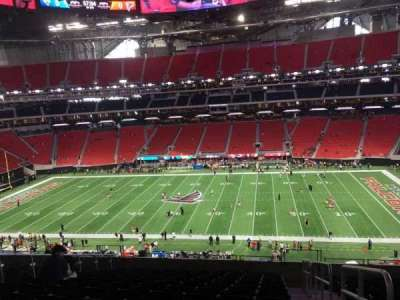 Mercedes-Benz Stadium, section: 209, row: 12, seat: 1