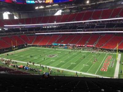Mercedes-Benz Stadium, section: 206, row: 12, seat: 7