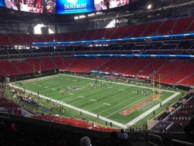 Mercedes-Benz Stadium, section: 204, row: 12, seat: 2