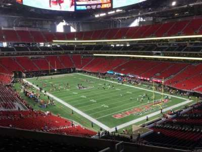 Mercedes-Benz Stadium, section: 202, row: 9, seat: 22