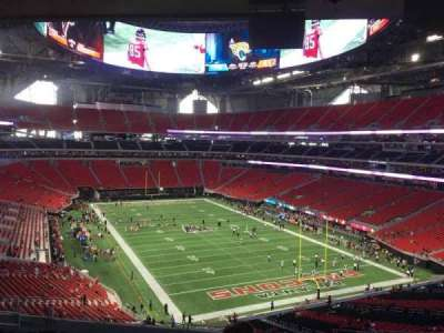 Mercedes-Benz Stadium, section: 201, row: 12, seat: 8