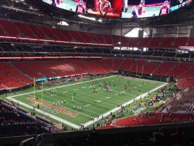 Mercedes-Benz Stadium, section: 245, row: 12, seat: 20