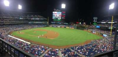 Citizens bank park  section 213