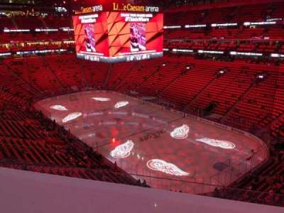 Little Caesars Arena, section: M23, row: Wc