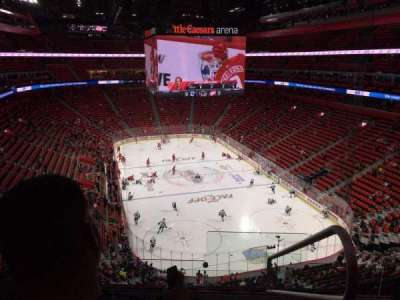 Little Caesars Arena, section: M20, row: 5, seat: 1