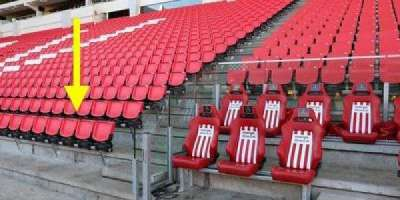 Philips Stadion, section: C, row: 2, seat: 9