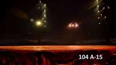 Cirque Du Soleil -Totem, section: 104, row: A, seat: 15