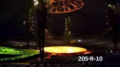 Cirque Du Soleil -Totem, section: 205, row: R, seat: 10