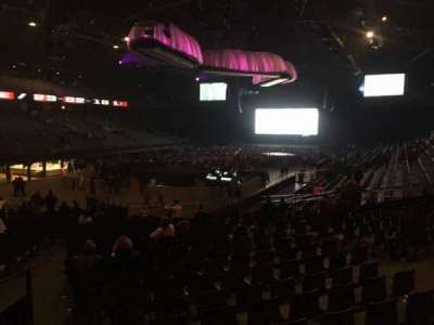 Sportpaleis, section: 127, row: 29, seat: 3