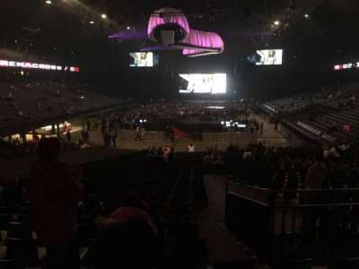 Sportpaleis, section: 132, row: 32, seat: 3