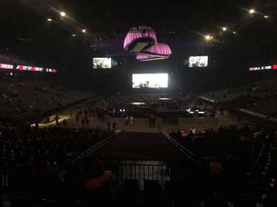 Sportpaleis, section: 134, row: 33, seat: 4
