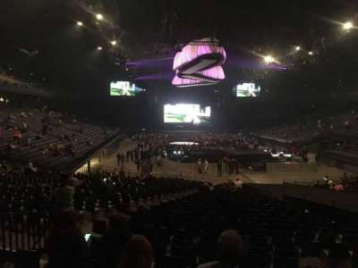 Sportpaleis, section: 136, row: 32, seat: 6