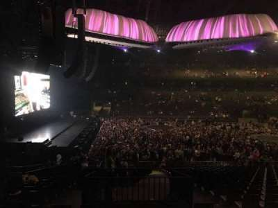 Sportpaleis, section: 154, row: 34, seat: 4