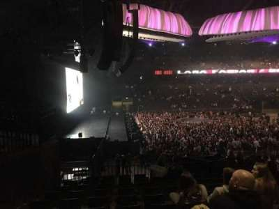 Sportpaleis, section: 155, row: 34, seat: 4