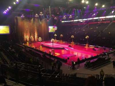 Manchester Arena, section: 106, row: Q, seat: 6
