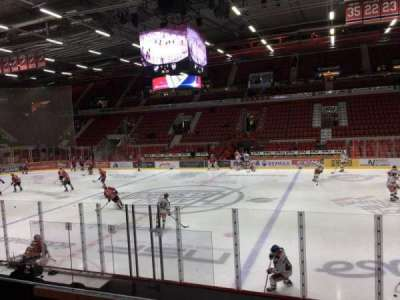 Helsingin Jäähalli, section: A5, row: 7