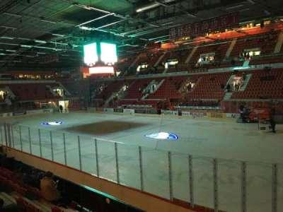 Helsingin Jäähalli, section: A7, row: 7, seat: 101