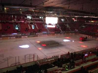 Helsingin Jäähalli, section: F3, row: 1, seat: 57