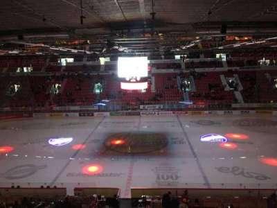 Helsingin Jäähalli, section: F5, row: 1, seat: 42