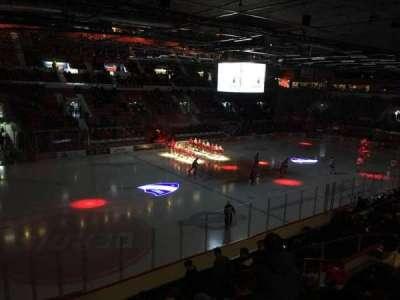 Helsingin Jäähalli, section: E1, row: 1, seat: 105