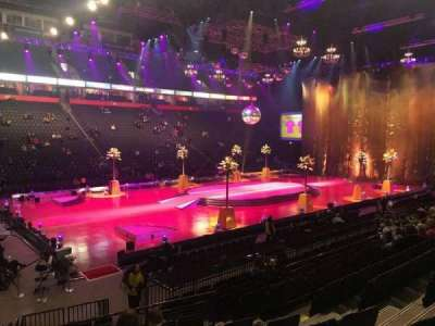 Manchester Arena, section: 112, row: M, seat: 8
