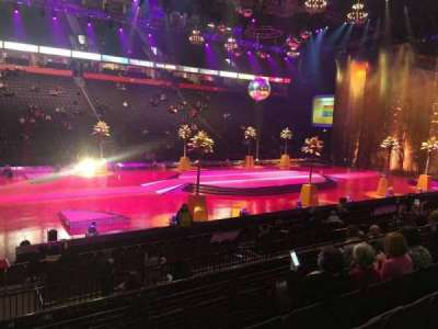 Manchester Arena, section: 113, row: K, seat: 3