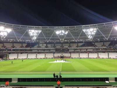 London Stadium section 136