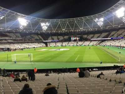 London Stadium, section: 126, row: 22
