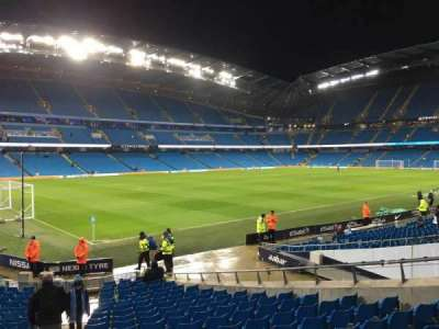 Etihad Stadium (Manchester), section: 132, row: T, seat: 855