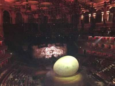Royal Albert Hall, section: Circle S, row: 3, seat: 74
