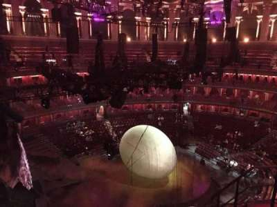 Royal Albert Hall, section: Circle P, row: 5, seat: 5