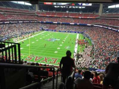 Nrg Stadium Section 349 Row V Seat 15