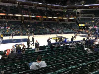 Bankers Life Fieldhouse Section 6 Row 14 Seat