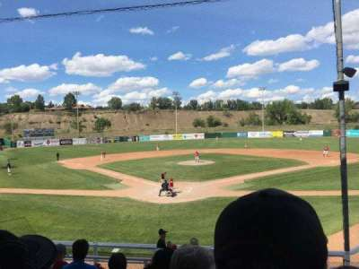 Athletic Park (Medicine Hat), section: D, row: G, seat: 1