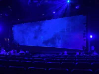 Blue Man Group Theater, section: 103, row: H, seat: 40