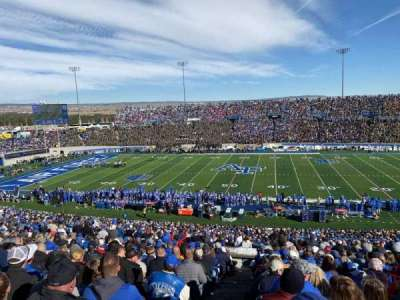 Falcon Stadium, section: M7, row: S, seat: 33