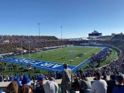 Falcon Stadium, section: M15, row: K, seat: 1