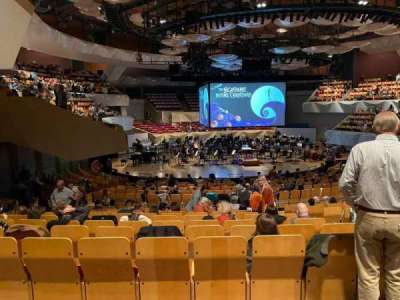 Boettcher Concert Hall, section: Orch 3, row: S, seat: 28