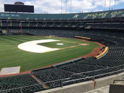 Oakland Coliseum, section: 226, row: 3
