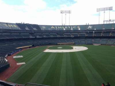 Oakland Coliseum, section: 200, row: 3