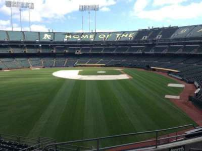 Oakland Coliseum, section: 234, row: 3