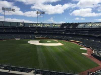 Oakland Coliseum, section: 235, row: 2