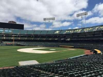 Oakland Coliseum, section: 127, row: 22