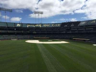 Oakland Coliseum, section: BL RF